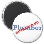 Plumber / Disgruntled Refrigerator Magnet