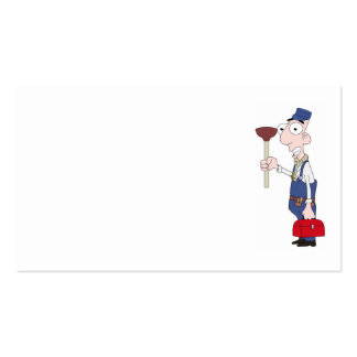 plumber Double-Sided standard business cards (Pack of 100)