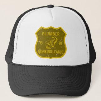 Plumber Drinking League Trucker Hat