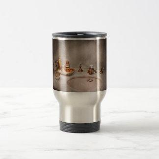 Plumber - First thing in the morning Travel Mug