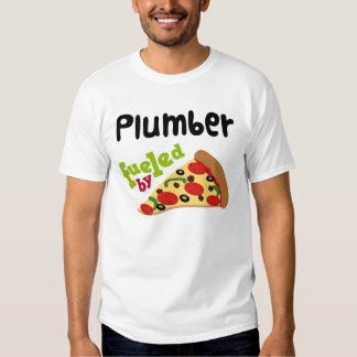 Plumber (Funny) Pizza T Shirt