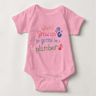 Plumber (Future) Infant Baby T-Shirt