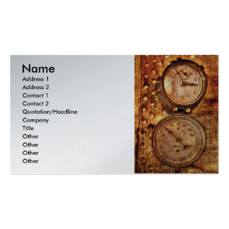 Plumber - Gauges Double-Sided Standard Business Cards (Pack Of 100)