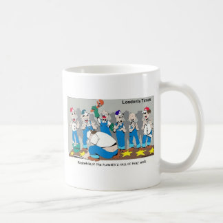 Plumber Hall Of Fame Funny Gifts Tees Collectibles Coffee Mug