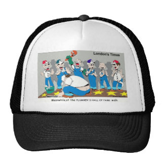 Plumber Hall Of Fame Funny Gifts Tees Collectibles Trucker Hat