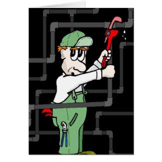 plumber helper card