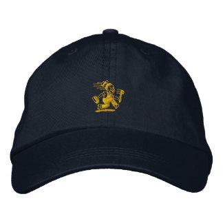 Plumber in a hurry. baseball cap