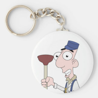 plumber keychains