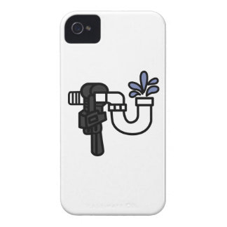 Plumber Logo Case-Mate iPhone 4 Case