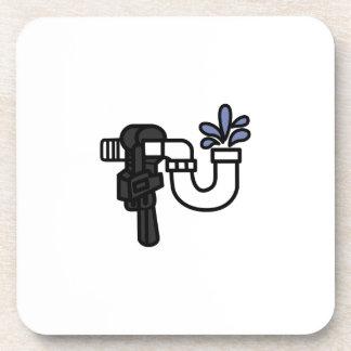 Plumber Logo Coaster