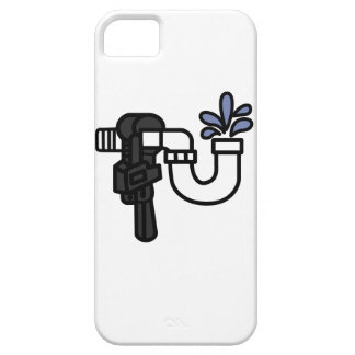 Plumber Logo iPhone SE/5/5s Case