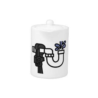 Plumber Logo Teapot