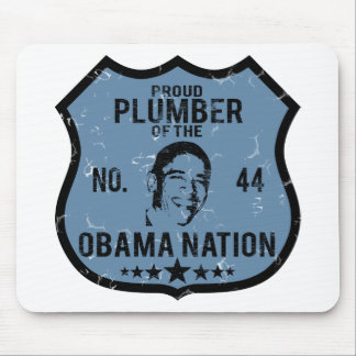 Plumber Obama Nation Mouse Pad