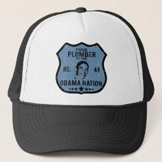 Plumber Obama Nation Trucker Hat