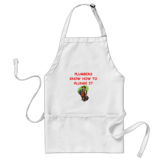 PLUMBER.png Adult Apron