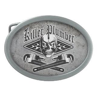 Plumber Skull: Killer Plumber 3.1 Belt Buckle