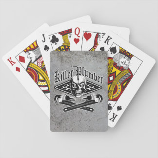 Plumber Skull: Killer Plumber 3.1 Playing Cards
