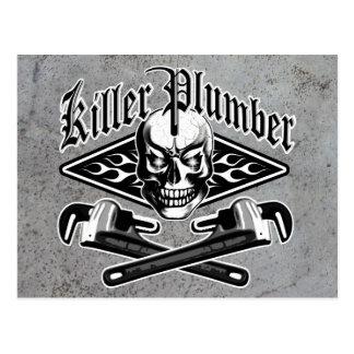 Plumber Skull: Killer Plumber 3.1 Postcard