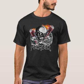 Plumber Skull T-Shirt: The Plumber T-Shirt