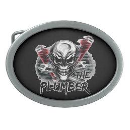 Plumber Skull: The Plumber Belt Buckle