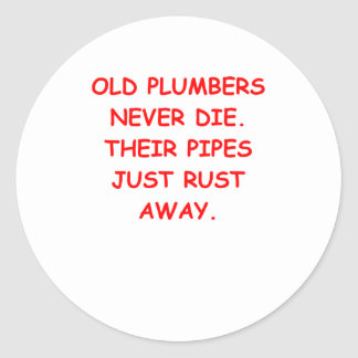 plumber stickers