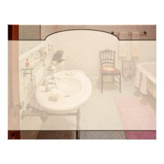 Plumber - The Bathroom Letterhead Template