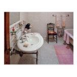 Plumber - The Bathroom Post Card