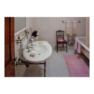 Plumber - The Bathroom Print