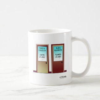 Plumbers at Large Coffee Mug