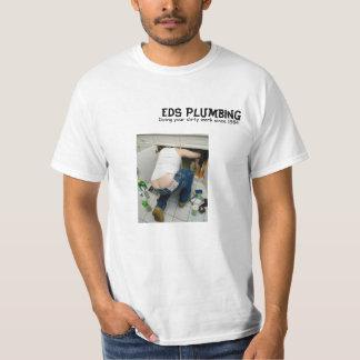 plumbers crack, EDS Plumbing, Doing your dirty ... T-Shirt