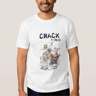 Plumbers crack t shirt
