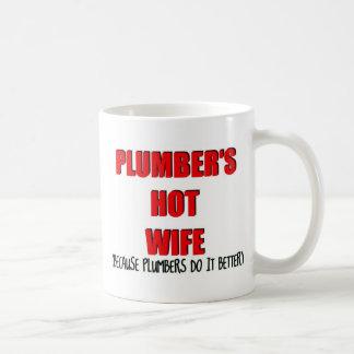 Plumbers Hot Wife Classic White Coffee Mug