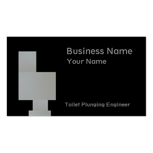 Plumbers In Gray Business Card