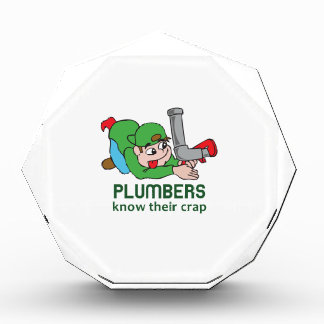 PLUMBERS KNOW THEIR CRAP AWARD