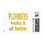 Plumbers Postage Stamps