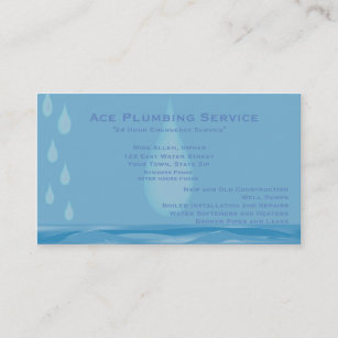 Plumbing And Heating Business Cards Zazzle