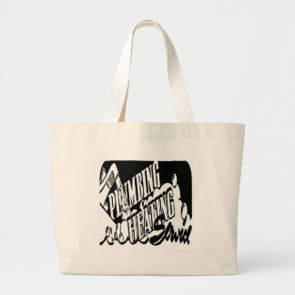 PLUMBING AND HEATING SERVICE CANVAS BAG