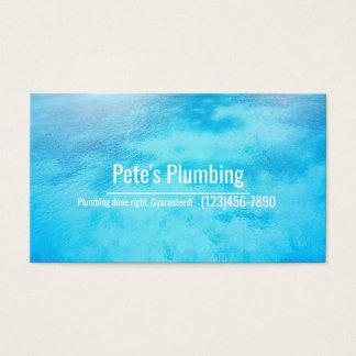Plumbing Company Business Card