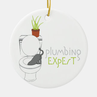 Plumbing Expert Ornament