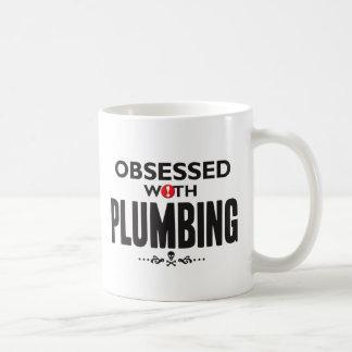 Plumbing Obsessed. Classic White Coffee Mug