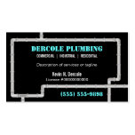Plumbing Pipes Business Card