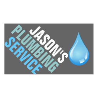 Plumbing Plumber Faucet Water Handyman Maintenance Business Card