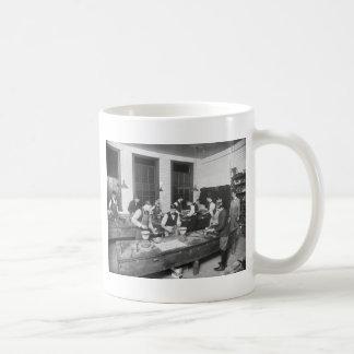 Plumbing School, early 1900s Classic White Coffee Mug