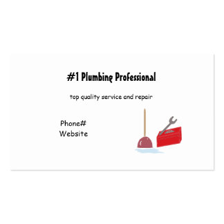 Plumbing Services Business Card