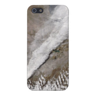 Plume from eruption of Chaiten volcano, Chile iPhone SE/5/5s Case