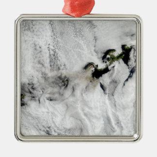 Plume from Okmok Volcano, Aleutian Islands 2 Metal Ornament