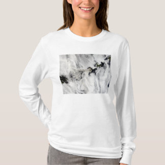 Plume from Okmok Volcano, Aleutian Islands T-Shirt