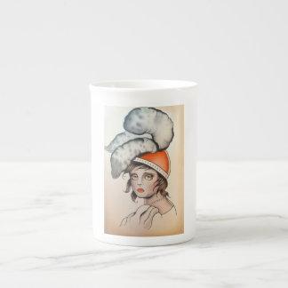 """""""Plume"""" Original Watercolor Coffee Mug"""