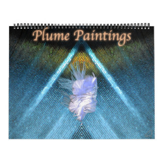 Plume Paintings Calendar