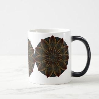 Plumed Petals Kaleidoscope Mandala Magic Mug